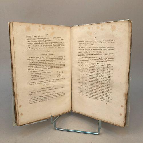 LE VERRIER, Urbain (1811 1877).   Théorie du mouvement de Mercure  Paris, Bachel…