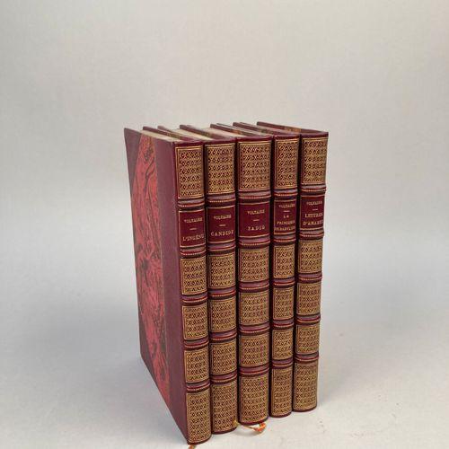 VOLTAIRE.  Romans de Voltaire : Candide. L'Ingénu. Zadig. Lettres d'Amabed. La P…