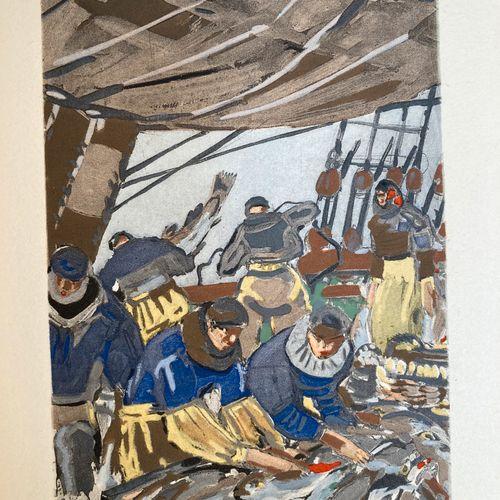 LOTI, Pierre.  Pêcheur d'Islande. Illustrations de Mathurin Méheut.    Paris, Ca…