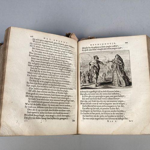 CATS, Jacob (1577 1660).  Begin, midden, eynde besloten in den Trou Ringh met de…