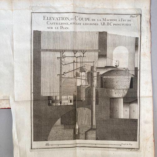 CAMBRAY, Louis Guillaume de .  Description d une machine à feu construite pour l…