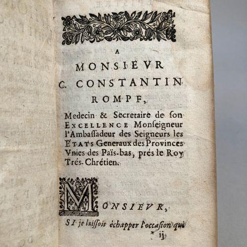 HIPPOCRATE. VIGIER, Jean.  Les aphorismes d'Hippocrate, traduits par Me I. Vigie…