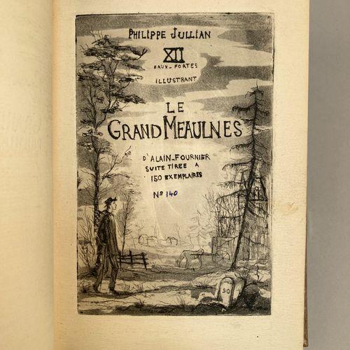ALAIN FOURNIER (Henri Alban FOURNIER, dit).  Le Grand Meaulnes. Frontispice grav…