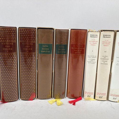 PLEIADE.  8 volumes des Editions de la Pleiade.  Paris, Gallimard.  Kafka, Prous…