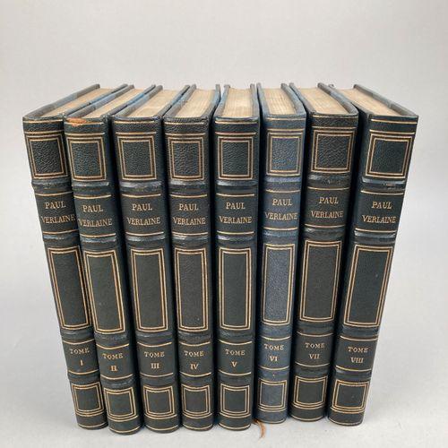 VERLAINE, Paul.  Oeuvres complètes de Paul Verlaine, illustrées par Berthold Mah…