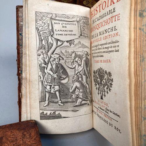 CERVANTES, Miguel de.  Histoire de l'admirable Don Quichotte de la Manche. Nouve…