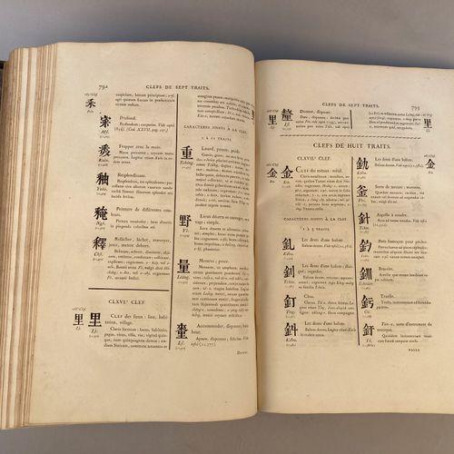 GUIGNES, Chrétien Louis Joseph de (1759 1845).   Dictionnaire chinois français e…