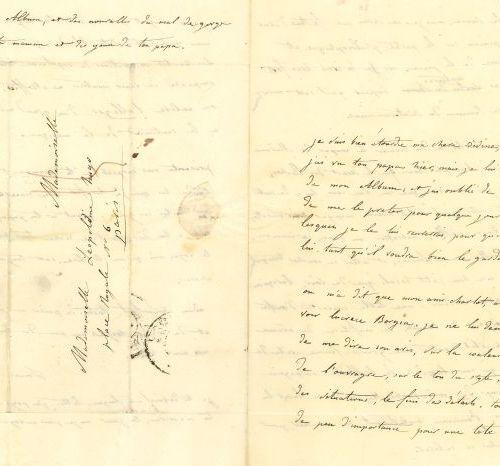 * Louise BERTIN (1805 1877) compositrice. 2 L.A.S., 1833 1834, à Léopoldine HUGO…