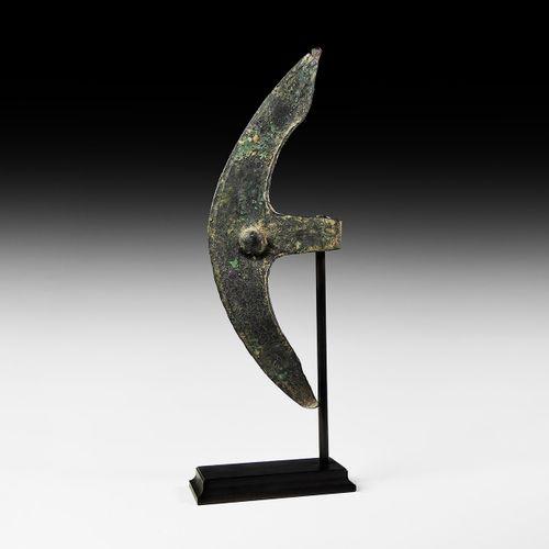 Tête de hache cananéenne Epsilon. 3e 2e millénaire avant J. C. Une hache en bron…