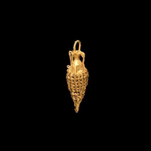 Pendentif amphore en or d'Asie occidentale. 2e 1er siècle avant J. C. Pendentif …