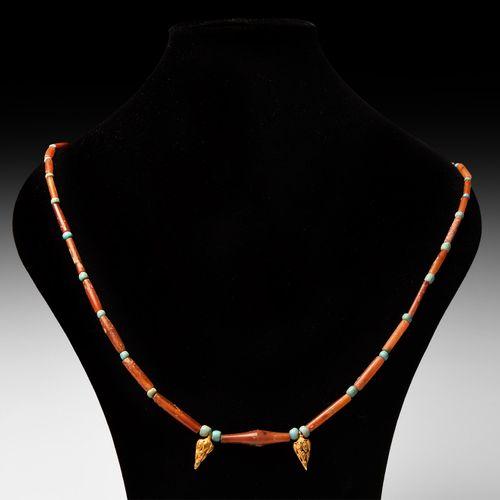 Collier de perles hellénistique. 2e 1er siècle avant J. C. J. C. Collier de perl…