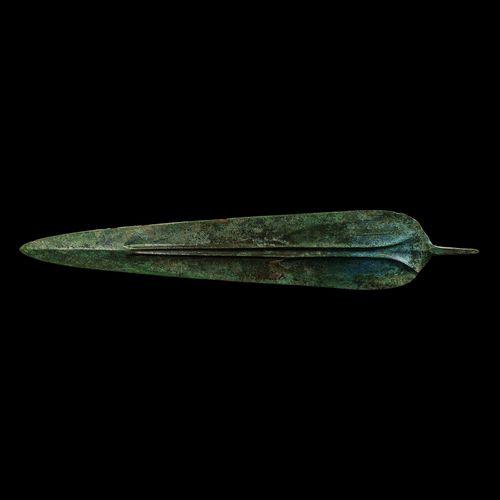 Épée courte de Perse du Nord Ouest avec canaux sanguins. 2e 1er millénaire avant…