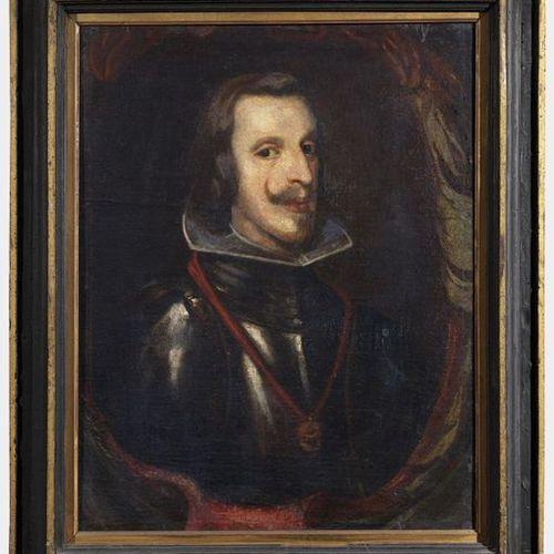 ARTISTA DEL XVII SECOLO ARTISTA DEL XVII SECOLO Portrait de Philippe IV de Habsb…