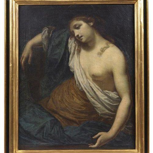 ARTISTA GENOVESE DEL XVIII SECOLO 18th century GENOVESE ARTIST Mary Magdalene. G…