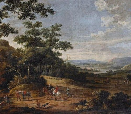 FOREIGN ARTIST WORKING IN ROME DURING XVIII CENTYRY ARTISTE ÉTRANGER TRAVAILLANT…