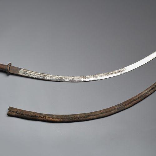 Arte africana Chotel (sabre)Horn of Africa, 19th century . 非洲艺术 Chotel (sabre)非洲…