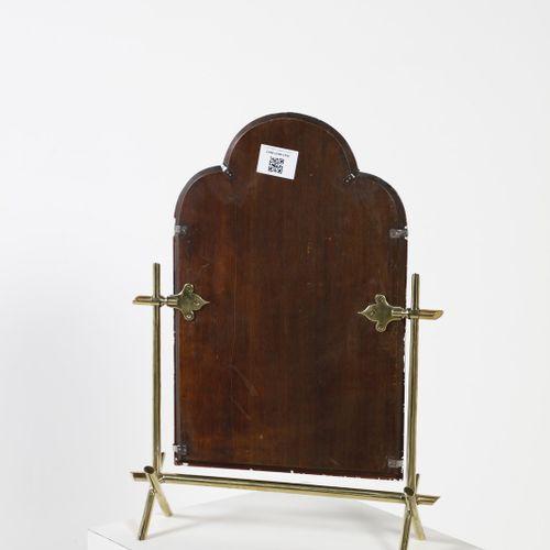 FONTANA ARTE FONTANA ARTE Miroir de table. Laiton et miroir. Cm 44.00 x 61.00 x …