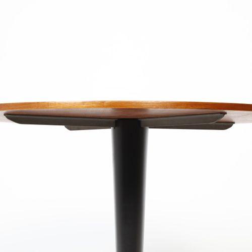 BEGA MELCHIORRE (1898 1976) Table MELCHIORRE. Laiton, métal peint et bois. Cm 78…