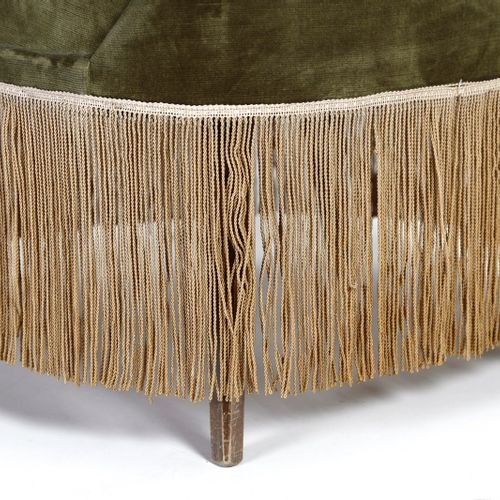 Manifattura Italiana MANIFATTURA ITALIANA 卧室用小扶手椅一对。木头和有衬垫的天鹅绒。Cm 54.00 x 85.00 …
