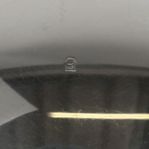 WMF 银质套装,牛奶壶和糖碗。银板。Cm 13,00 x 6,00 x 5,70。底座上有标记,1950年代。尺寸:牛奶壶6 x 13 x 5.7 糖碗4 x…