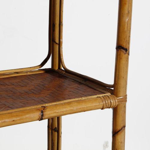 Manifattura Italiana MANIFATTURA ITALIANA 一对书柜。竹子。Cm 90.00 x 160.00 x 40.00. 六十年…