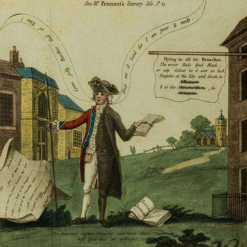 Thomas Pennant Pennant (Thomas) La vie littéraire de feu Thomas Pennant, Esq. Pa…