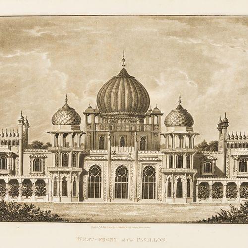 Humphry Repton Repton (Humphry) Designs for the Pavilion at Brighton, deuxième é…