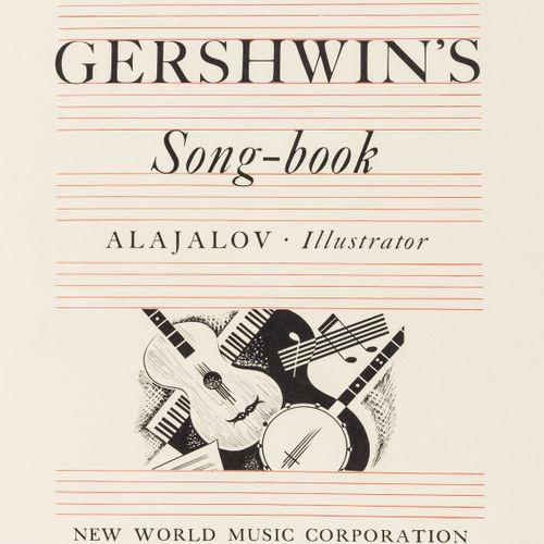 George Gershwin Gershwin (George) George Gershwin's Song book, première édition,…