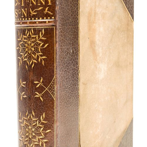 Alfred, Lord Tennyson Art Nouveau binding. Tennyson (Alfred, Lord) The Works, st…