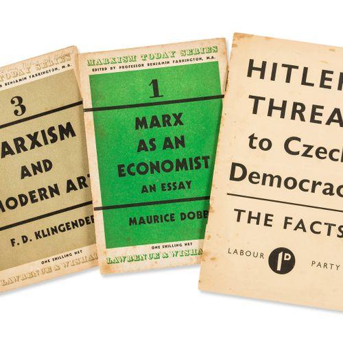 NO RESERVE Politics Hitler's Threat to Czech Democracy, 13pp, légèrement bruni, …