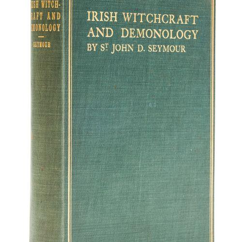 John D. Seymour Spiritualism. Seymour (John D.) Irish Witchcraft and Demonology,…