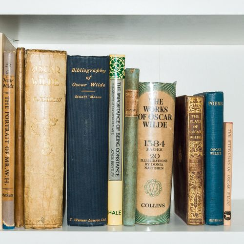 Oscar WILDE Wilde (Oscar) The Ballad of Reading Gaol,第二版,1000本中的一本,书末页轻微变色,偶尔有手指…