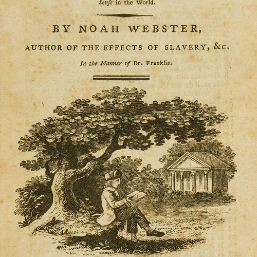 Noah Webster NO RESERVE Auteur américain Webster (Noah) Sentimental and humourou…