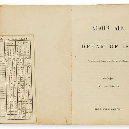 Hans Busk [Busk (Hans)] L'arche de Noé. A dream of 1850, occasional spotting and…
