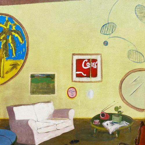 EMANUELE GREGOLIN GREGOLIN EMANUELE  Milano (Mi) 1972    Interno  1990    Olio s…