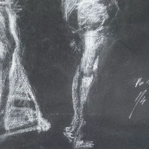 ANONIMO ANONIMO ANONIMO  Anonimo (An)    Senza titolo  1934    Pastello bianco s…
