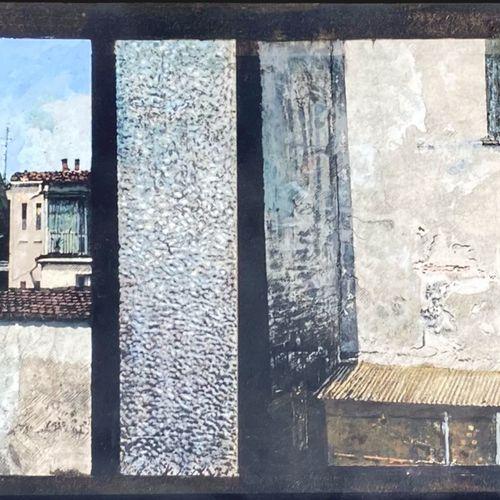Giuseppe Banchieri BANCHIERI GIUSEPPE  Milano (Mi) 1927    Senza titolo      Oli…