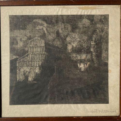 UMBERTO VITTORINI VITTORINI UMBERTO  Barga (Lucca) 1890    Senza titolo  1925   …