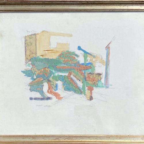 ATTILIO FORGIOLI FORGIOLI ATTILIO  Salò (Brescia) 1933    Paesaggio      Mista s…