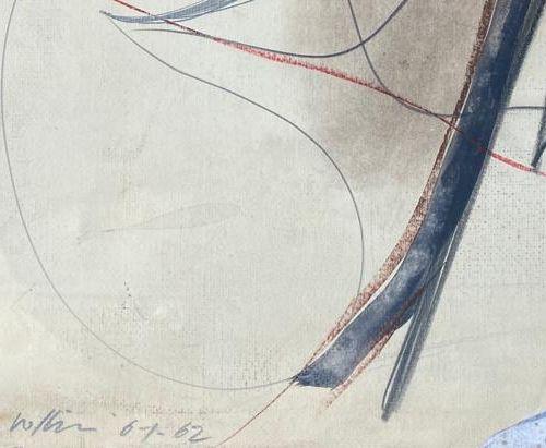 Renato Volpini VOLPINI RENATO  Napoli (Na) 1934    Studio per .....  1961    Tec…