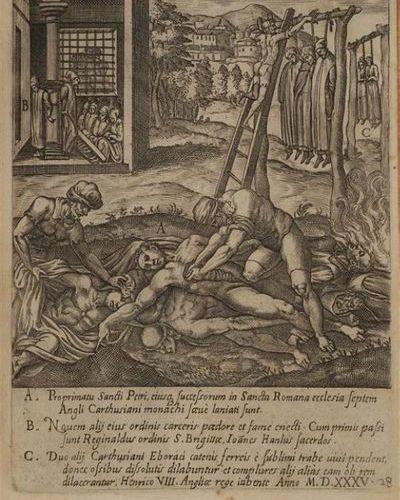 * [Gravures du XVIe siècle]. CAVALIERI (Giovanni Battista). Ecclesiae militantis…