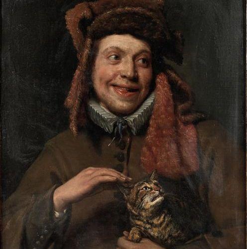 """SWEERTS Michael (Bruxelles 1618 Goa 1664) """"Le Toucher"""" Toile. Haut. : 75 cm ; La…"""