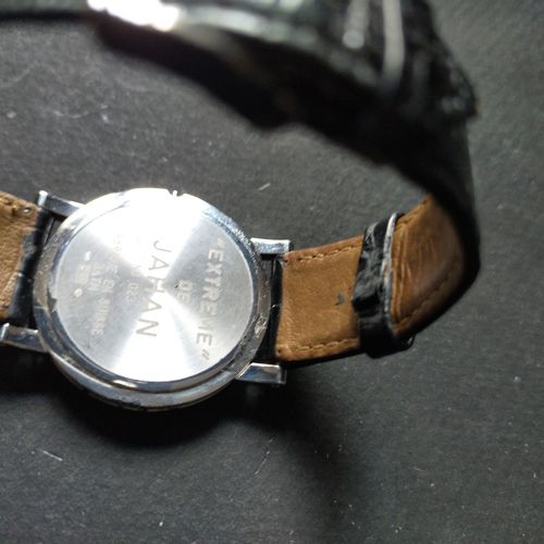 JAHAN  No. 023  Montre bracelet en or blanc 750 millièmes sertie de diamants. Lu…