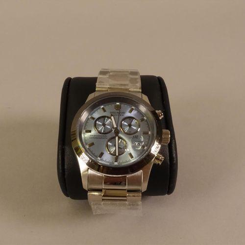 SWISS MILITARY HANOWA, professional chronograph  Montre bracelet d'homme en acie…