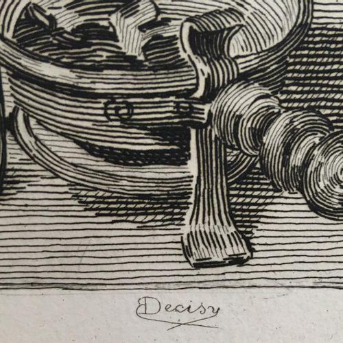 Carton à dessin contenant des gravures    Provenance : Fond d'atelier de l'artis…