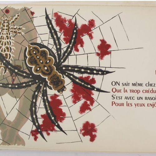 Jean Picart Le Doux (1902 1982)  Le bestiaire ou cortège d'Orphée. Lithographies…