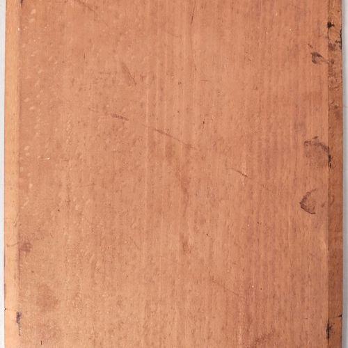 DEJEAN  Hallebardier  Huile sur panneau, signée en bas à droite  Haut.: 23 cm ; …