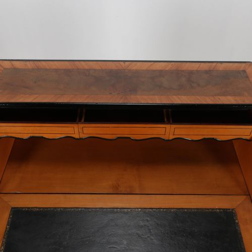 Secretaire en acajou vers 1870, Willem III, 105x47x86 cm.