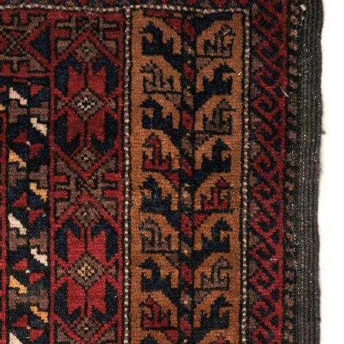 La prière d'Ersari. Afghanistan ou Turkménistan. Circa 1920. Laine sur laine, po…