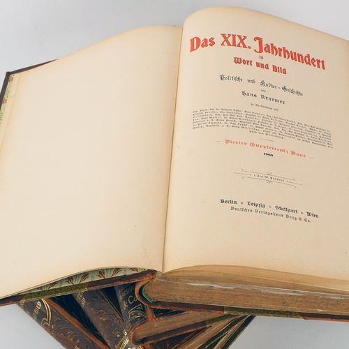 Hans Kraemer: The XIXth century in words and pictures, political and cultural hi…